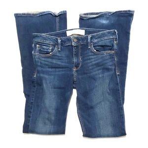 《Abercrombie》Flare Leg Jeans Sz 6 W 28 Blue